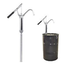 New Listinglever Action Barrel Pump Transfer Fuel Diesel Hand Pump Oil Drum Tank 55 Gallon