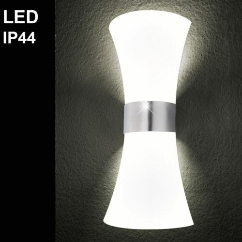 Design LED Außen Wand Spot Lampe Garten UP /& DOWN Edelstahl Veranda Hof Leuchte