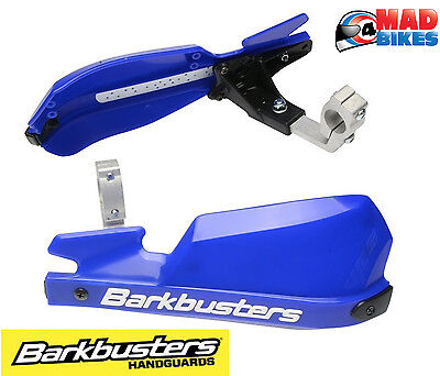 Barkbusters NEW Mx Motocross Motorcycle VPS Hand Guards White Wind Deflectors