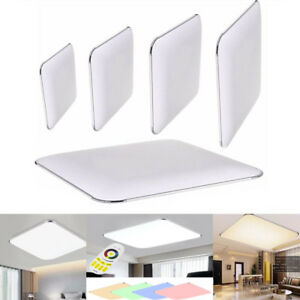 Lampara-de-techo-LED-12W-96W-Luz-del-panel-Slim-Plafon-lampara-Dormitorio-IP44