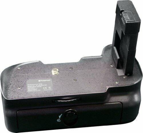 Polaroid Performance Battery Grip For The Nikon D5100 Digital SLR Camera