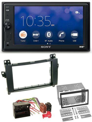 Sony Bluetooth USB DAB 2DIN MP3 Autoradio für Mercedes A-Klasse W169 C169
