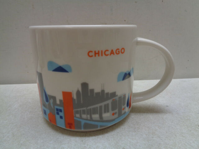 You Coffee Chicago City Oz 14 Mug Collectible Starbucks 2014 Are Here Cup A3qRc5j4L