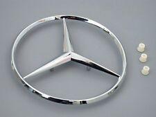 Mercedes w124 w201 GENUINE Trunk Star  KIT + Grommets rear decklid logo insignia