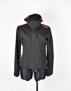 best website d0187 9c38f Details zu Superdry mit Kapuze Damen Jacke Mantel GRÖSSE L