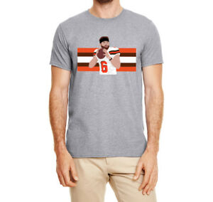 Cleveland Browns Baker Mayfield Stripes T-Shirt