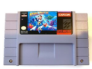 Mega-Man-X-SUPER-NINTENDO-SNES-Game-Tested-Working-amp-Authentic