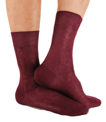 Zimmerli Men/'s 7 Pair Mid-Calf Pure Luxury Cotton Dress Sock Collection