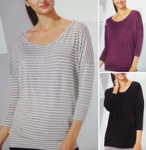 Damen Wellness Pullover Sweatshirt Pullover Basic S M L  *E074