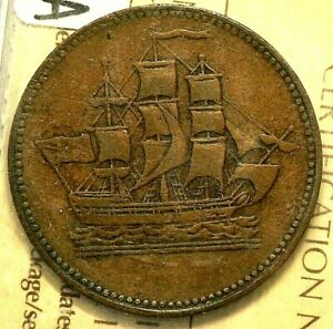 PEI-Ships-amp-Colonies-Token-ICCS-VF30-PE-10-10A-9153