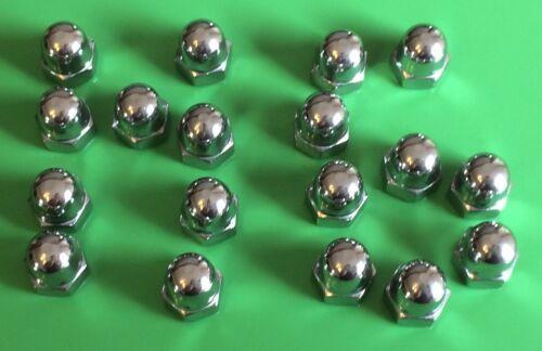 10 Stück Hutmutter M6 Edelstahl A2 DIN 1587 M6