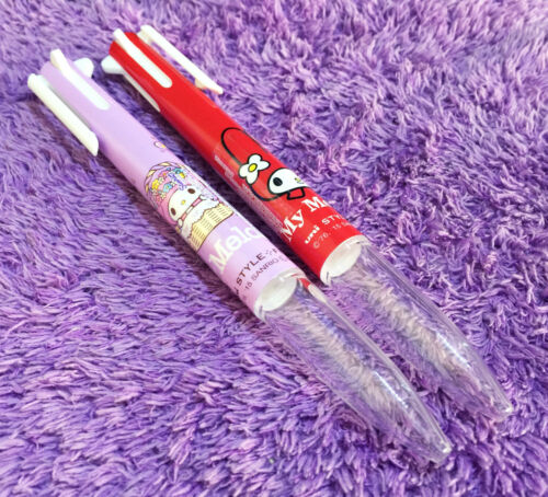 10 Refill Sanrio Uni-Ball SPECIAL EDITION Gift Set 2x My Melody Style Fit Pens