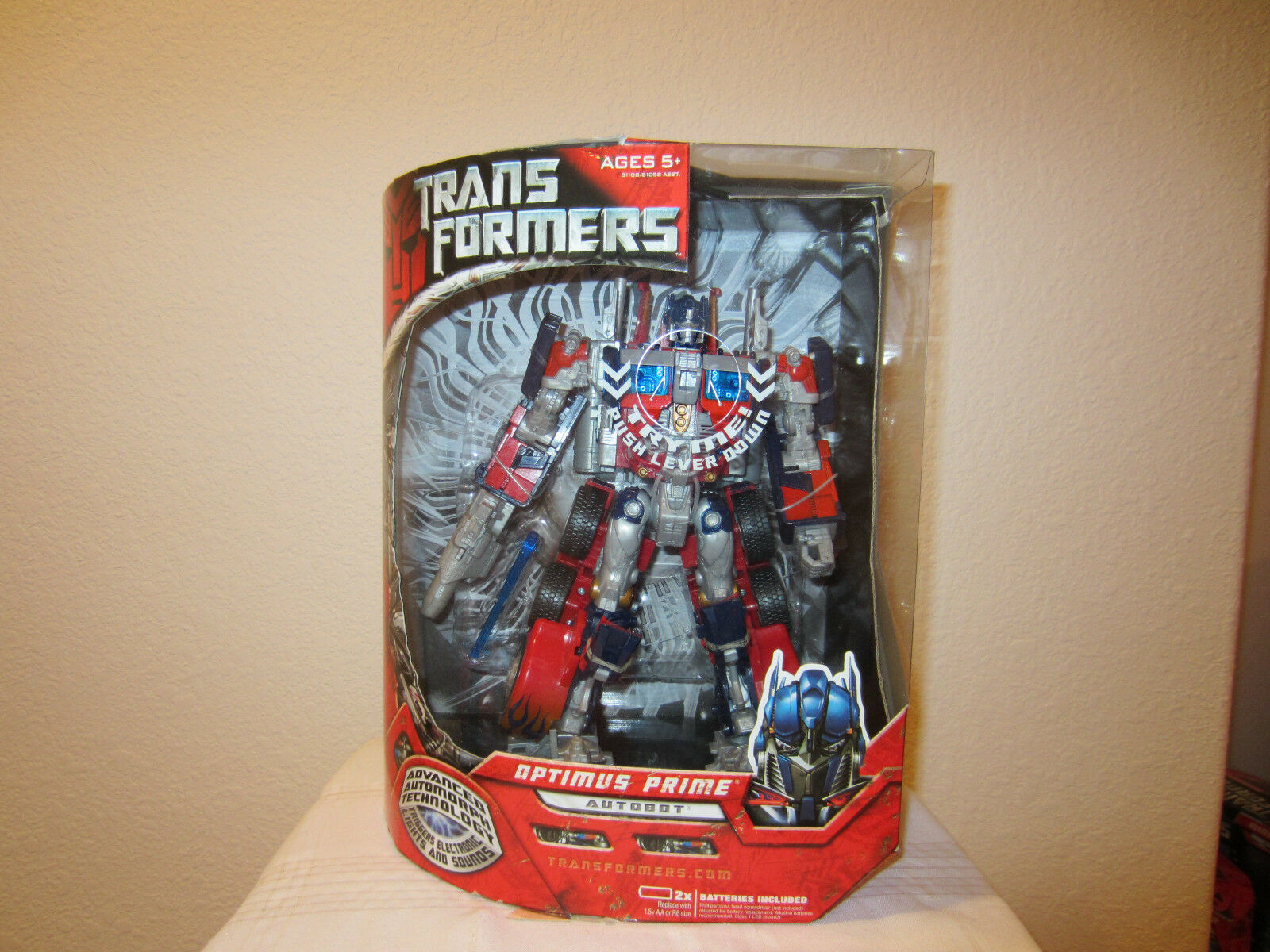 Transformers Movie one Autobot Optimus Prime Leader class Action Figure MISB