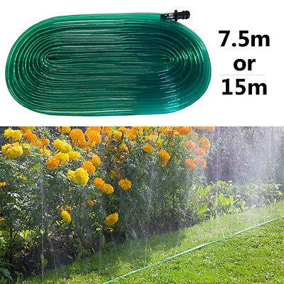 15 m Soaker tuyau de jardin irrigation goutte à goutte arrosage Arroseur Pelouse Plantes NEUF