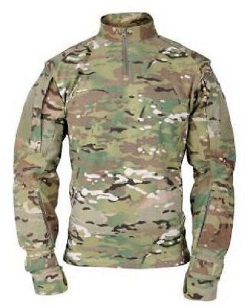 US OCP ARMY MILITARY Multicam ISAF Tactical TAC.U Combat TAC U Shirt Hemd MR