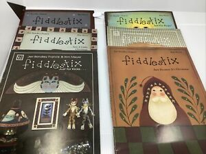 6-Fiddlestix-Decorative-And-Tole-Painting-Pattern-Instructional-Books-Crafting