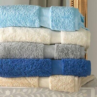 Set of 2 Matouk Lotus Bath Towel White