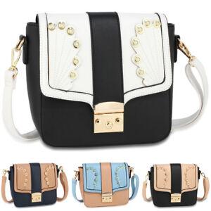 Details About Las Cross Body Messenger Bag Womens Designer Shoulder Bags Satchel Handbag Uk
