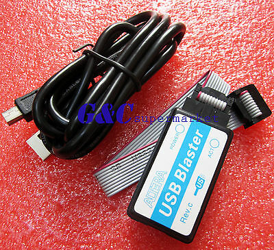 2PCS altera Mini Usb Blaster Cable For CPLD FPGA NIOS JTAG Altera Programmer M99