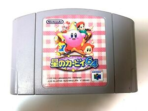 Nintendo-64-Kirby-64-The-Crystal-Shards-Japan-N64-game-US-Seller