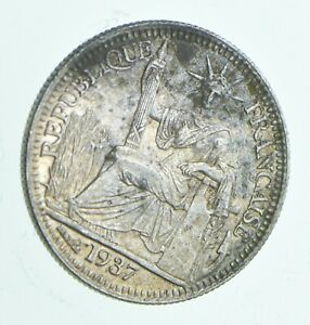 1937-French-Indochina-10-Centimes-Walker-Coin-Collection-671