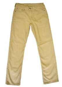 bb348d8a Levi's Mens 514 Corduroy Pants 30 x 32 Brown Tan Straight Leg Five ...