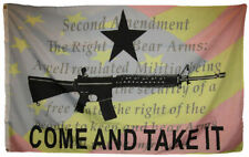 3x5 FT Come and Take It M4 AR15 Texas Gonzales Polyester Flag