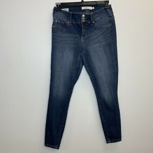 Torrid Women's Denim Jeans Jegging Blue Size 10 Skinny Faux Pockets