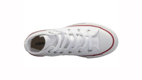 Optical White Converse Chuck Taylor All Star High Top Canvas Girls Shoes 3J253