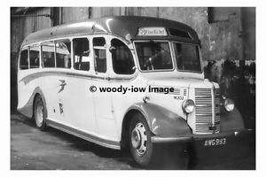 rp12105-Scottish-Bluebird-Bus-Coach-no-W202-AWG-993-photograph-6x4