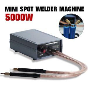 US DIY Portable Mini Spot Welder Machine Welding Power+Pen for 18650 Battery