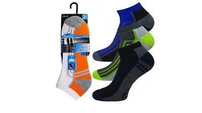 Apprehensive 5,12 Mens Trainer Socks Sports Work Ankle Cushioned Sole Heel Toe Size 6-11 Pleasant In After-Taste Men's Clothing Socks
