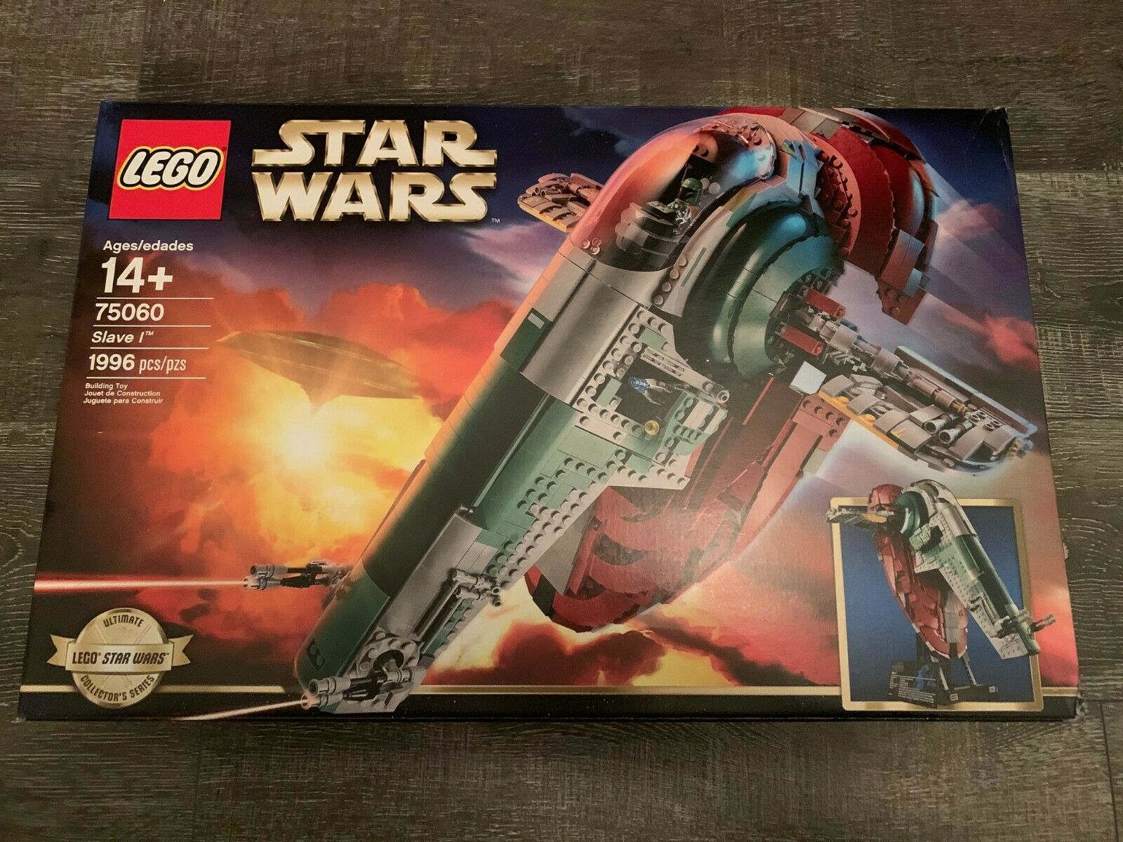 LEGO Star Wars Slave 1 75060 UCS Set Factory Sealed NEW Retirosso