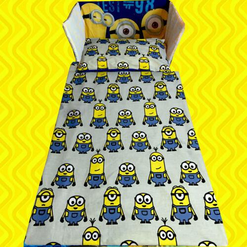 Minions Movie Minion Despicable Me BEDDING SET Curtains BLUE