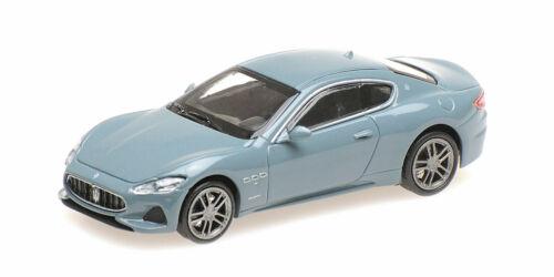 Minichamps 870123121 Maserati Grantourismo 2018 dunkelblaumetallic HO 1:87 NEU