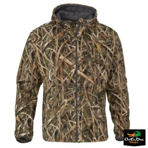 60b1a989d2e11 NEW BROWNING WASATCH CB FLEECE JACKET MOSSY OAK SHADOW GRASS BLADES ...