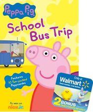 Peppa Pig: School Bus Trip (DVD, 2016)