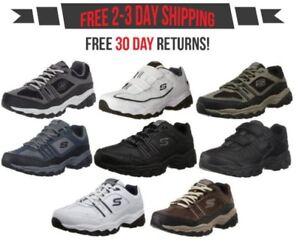 e7daaeae998e6 Skechers Men's After Burn Memory Fit - Strike Off Lace-Up Sneaker | eBay