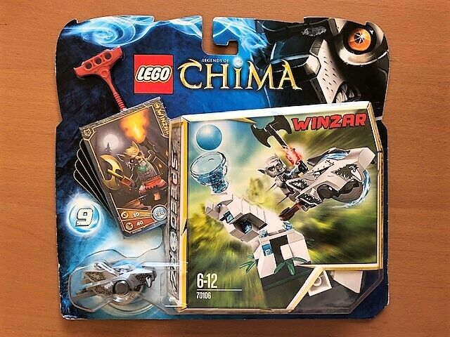 Lego Chima 70106  ICE TOWER WINZAR Unopened BNISB