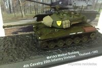 1/72 M41 A3 WALKER BULLDOG 4th CAVALRY THAINLAND 1962 TANK TANQUE ALTAYA