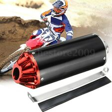 28mm Exhaust Muffler Tail For TTR CRF50 SSR Thumpstar 90 110 125cc Dirt Bike