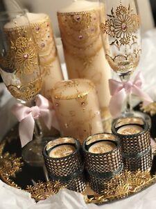 Candle Set Gift Henna Paint Wedding Engagement Mendhi Occasions Ebay