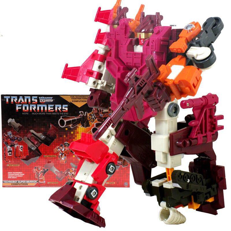 Transformers TECHNOBOT SUPER WARRIOR COMPUTRON Geschenken