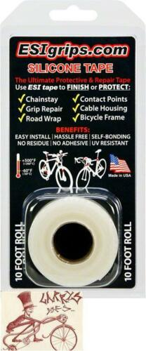 ESI SILICONE 10/' FOOT ROLL BICYCLE FRAME PROTECTOR CLEAR TAPE