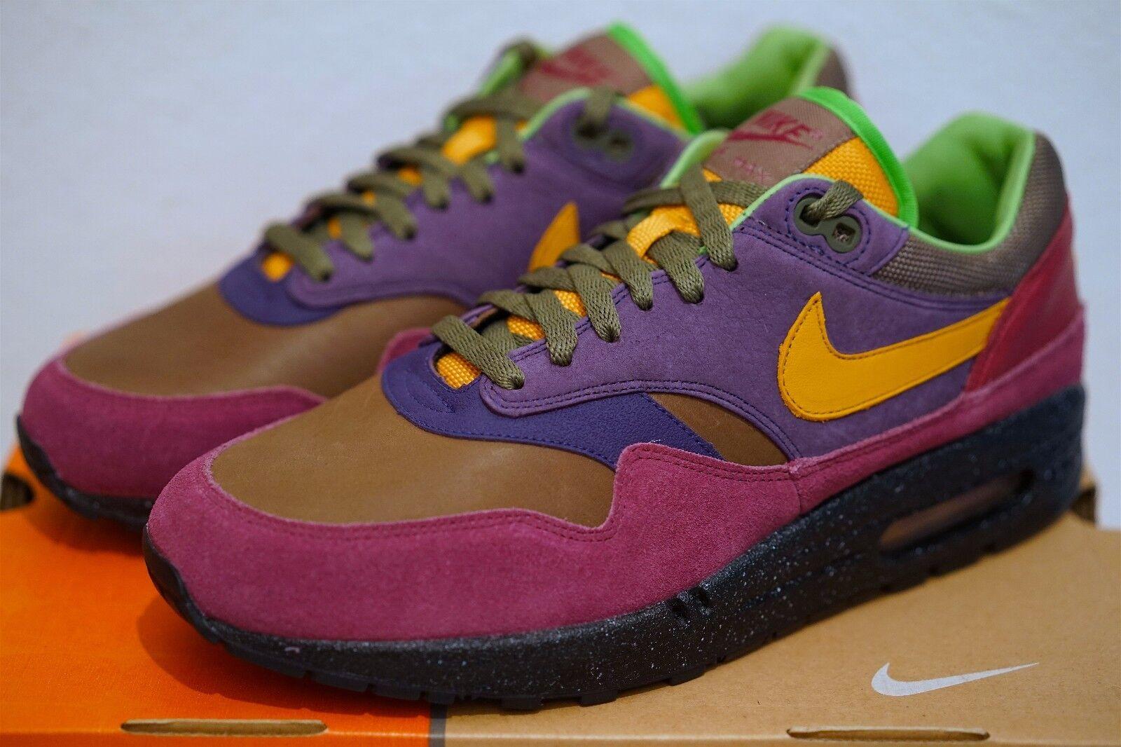 Nike Air Max 1 Premium Huarache Pack 2006 Gr. 43 Terra 180 Atmos Elephant Patta