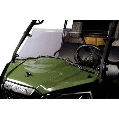 Tusk Hinged Folding Half Windshield HONDA PIONEER 500 2015-2017 window
