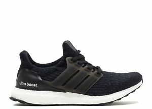 1f4bab1ee Adidas Ultra Boost 3.0 Women s Primeknit Core Black S80682 White ...