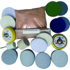 Deep Scratch Remover ,Glass Polishing Kit 8 OZ Cerium Oxide and 2'' Wheel amno22