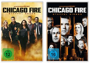 12-DVDs-CHICAGO-FIRE-SEASON-STAFFEL-6-7-IM-SET-NEU-OVP