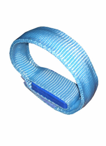 LED 4-way Lighted Reflective Flashing Wristband for Night Safety SIZE Small